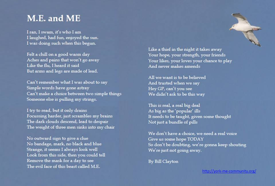 ME and M.E. by Bill Clayton