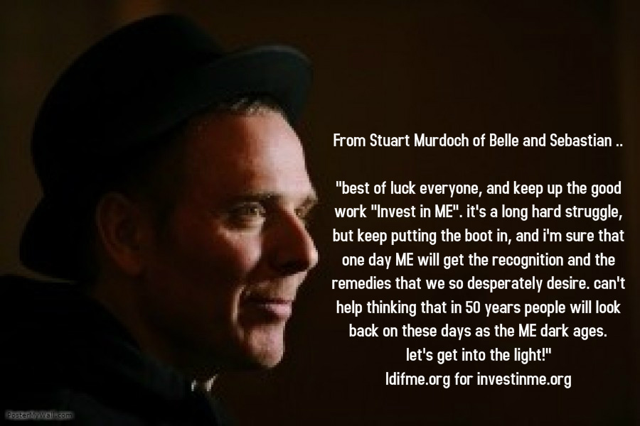 Message from Stuart Murdoch
