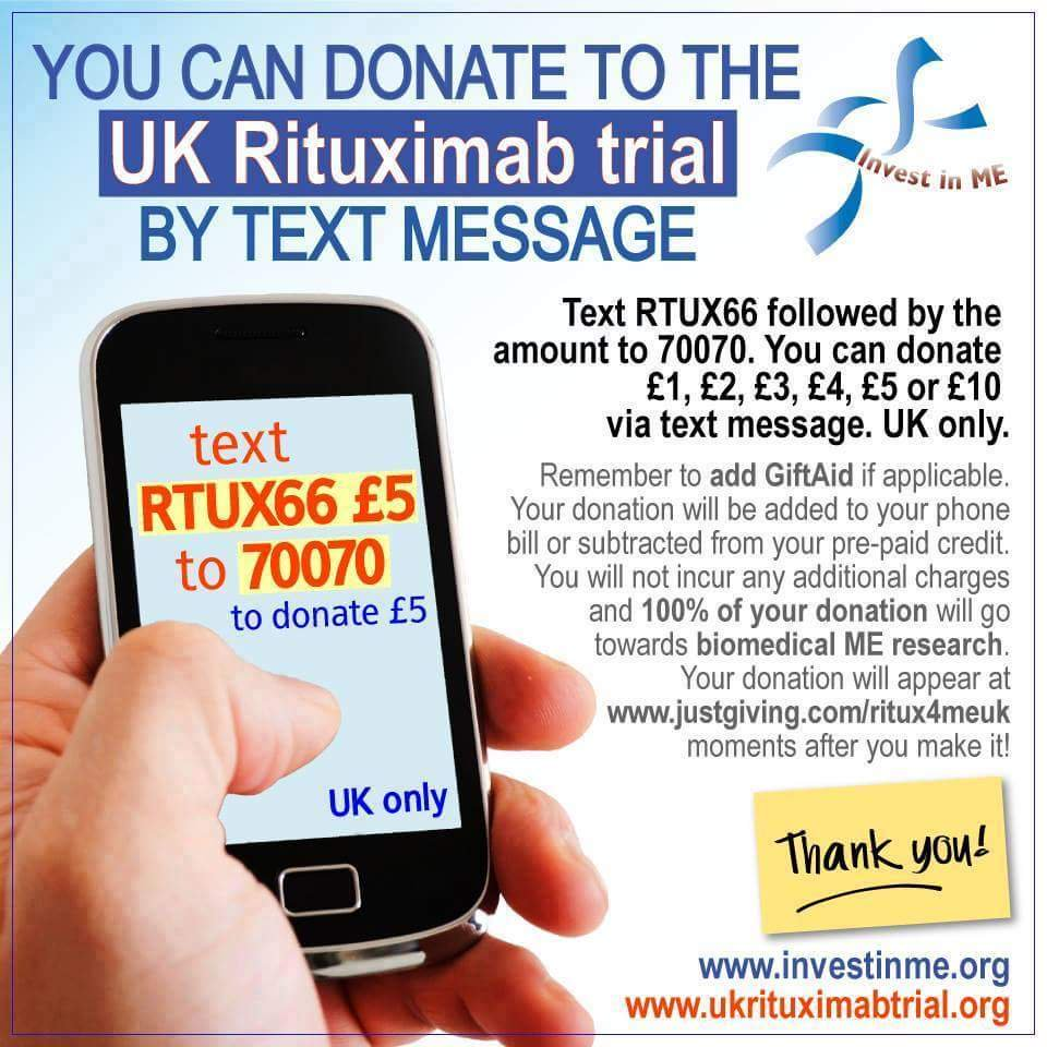 Rituximab Trial JustTextGiving
